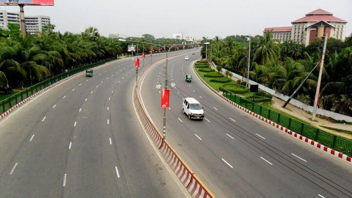 dhaka airport road