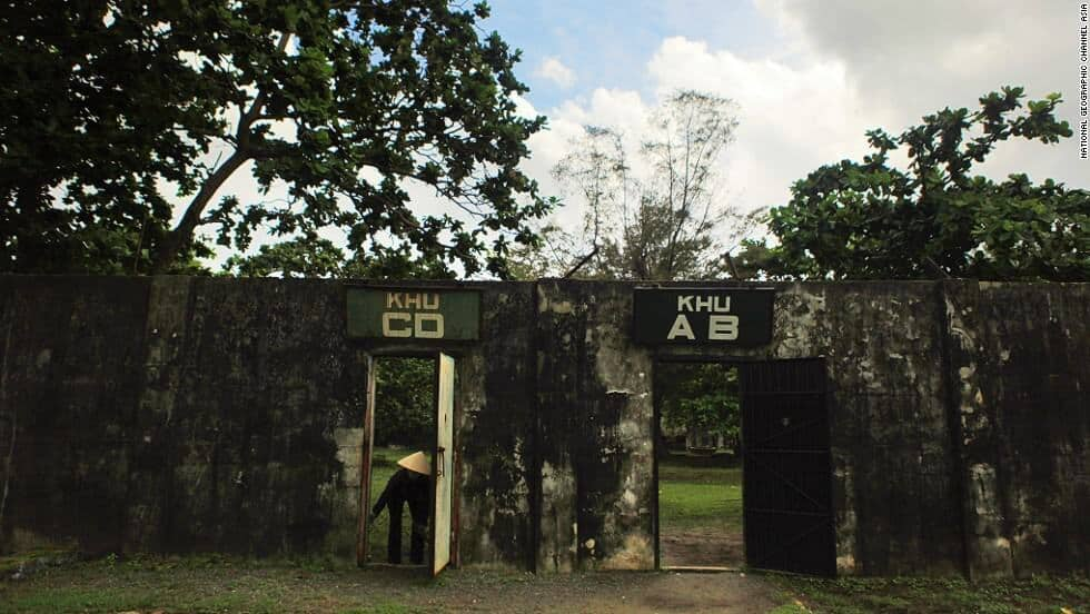 Ph Bin American Prison Camp in Vietnam