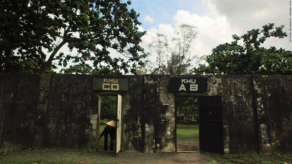 Ph Bin American Prison Camp in Vietnam