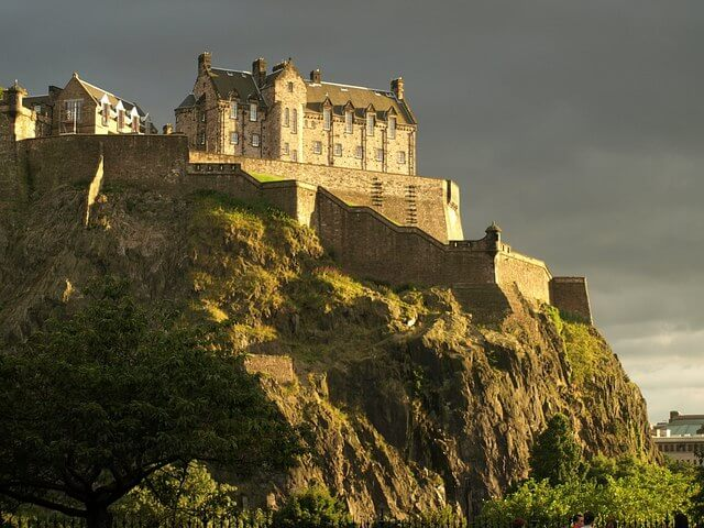 Haunted Edinburgh Castle United Kingdom