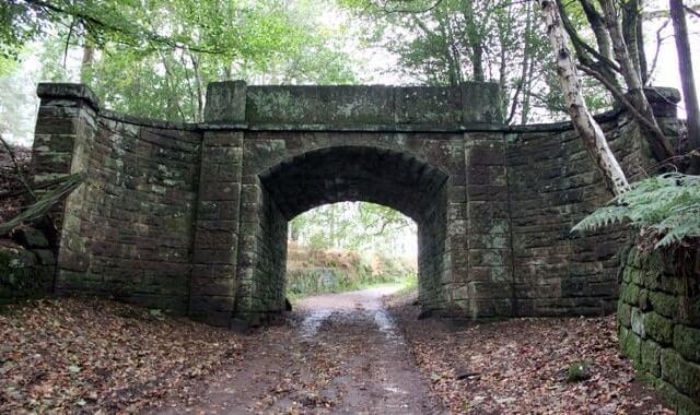 The Haunted Bridge, Peckforton, Cheshire