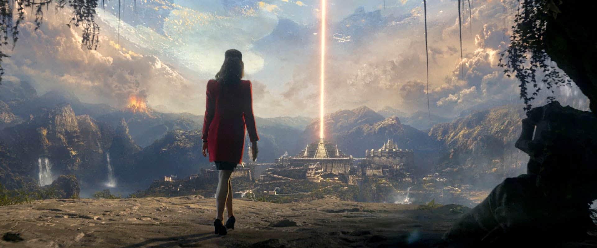 Agartha Hollow Earth Iron Sky Movie Scene