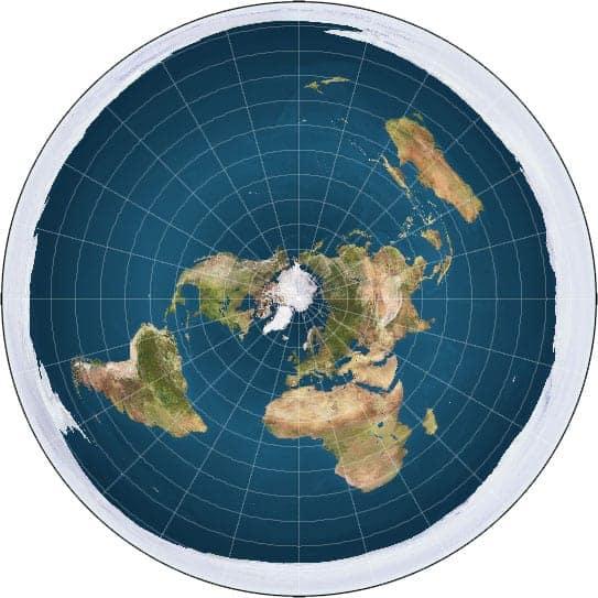 Flat Earth Photo