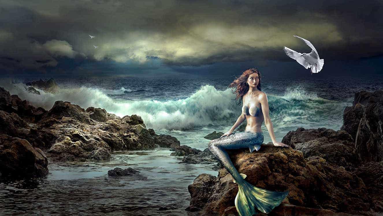 Mermaid - Beauty with Beastie Habits