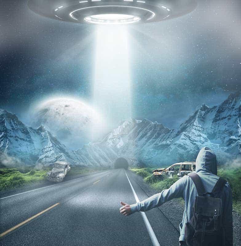 Real life UFO Sighting